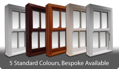 Sash Windows Colours