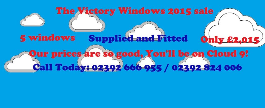Speacial Offers from Victory windows hampshire